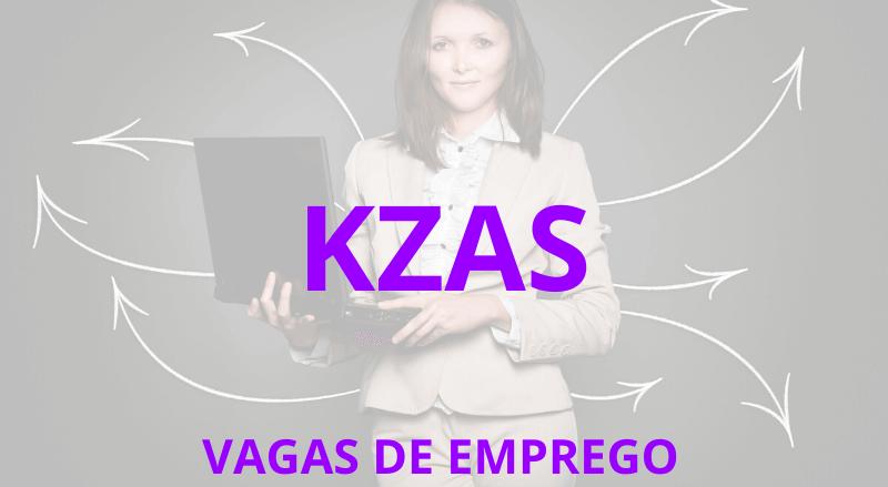Vagas de Emprego KZAS - MCG