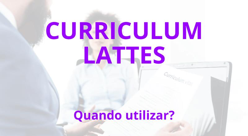 curriculum lattes