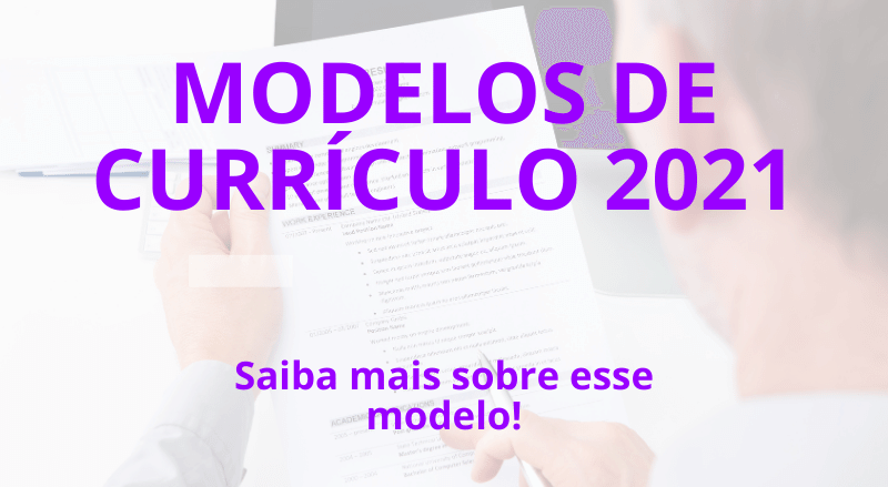 modelos currículo 2021